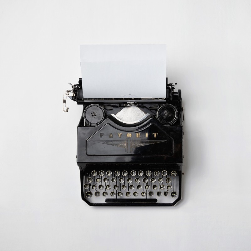Typewriter by Florian Klauer